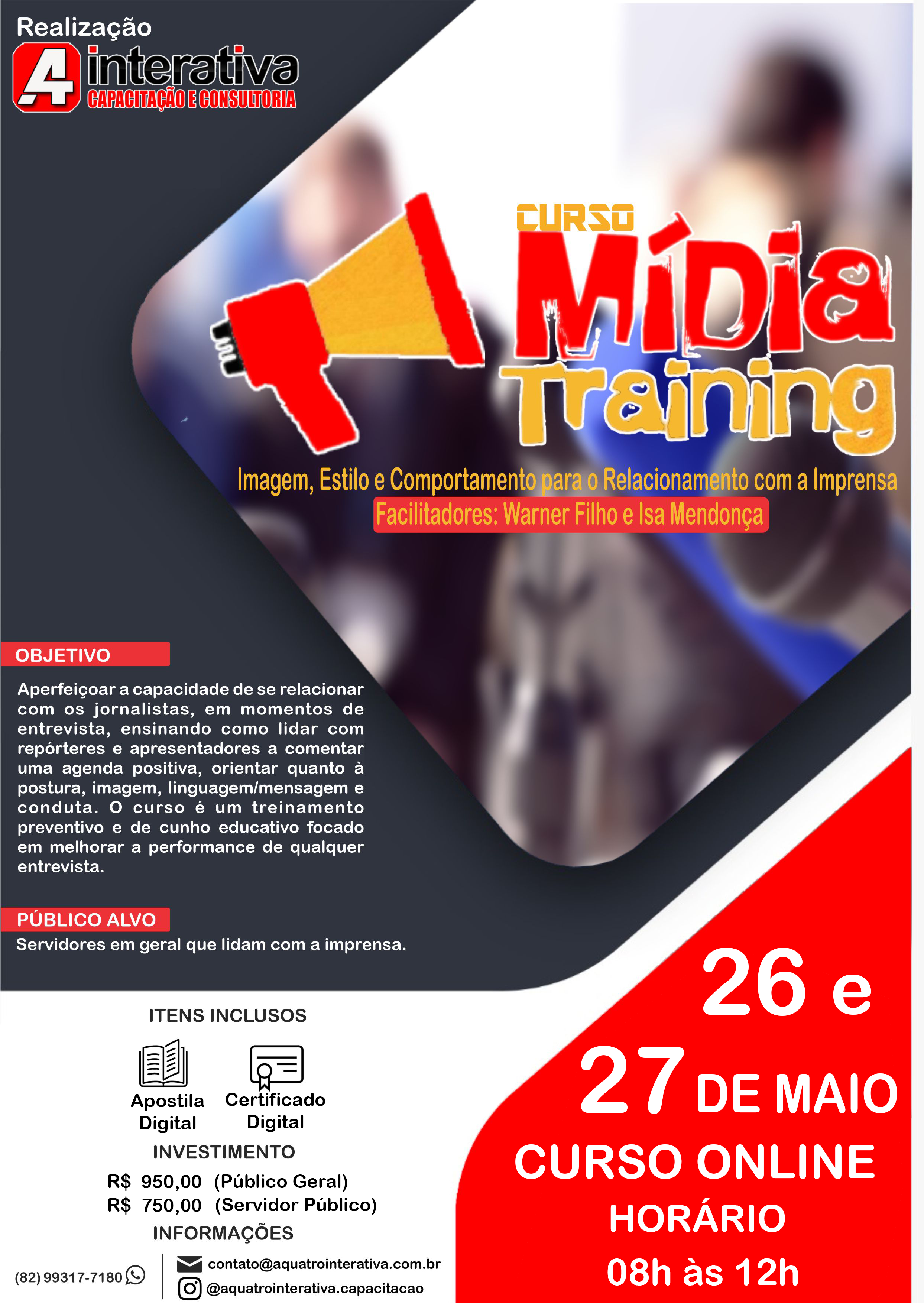 Curso Mídia Training Online